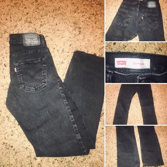Levi's Denim - vintage black acid levi's jeans